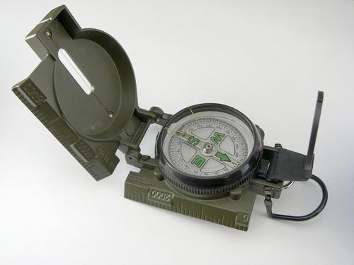 brujula militar lensatic engineer dial flotante luminoso