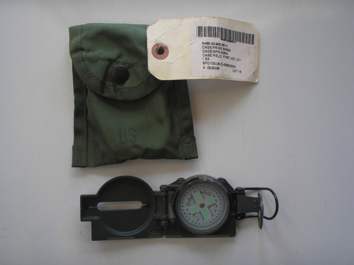 brujula militar us army original con estuche made in usa