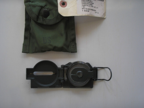 brujula militar us army original con estuche made in usa