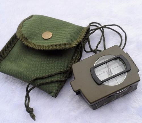 brújula prismática compas exploración militar del ejercito