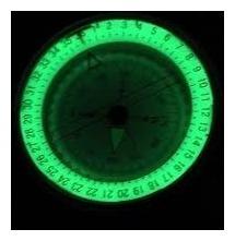 brújula prismática compas exploración militar del ejercito m