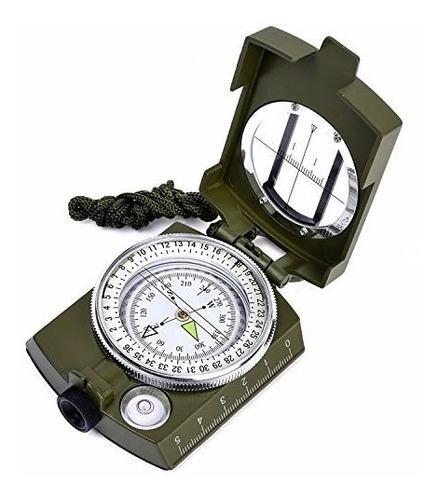 brújula profesional lensatica prismática camping topografia
