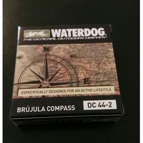 Brújula Waterdog Metal Dc-44-2 Camping Excursiones Trekking