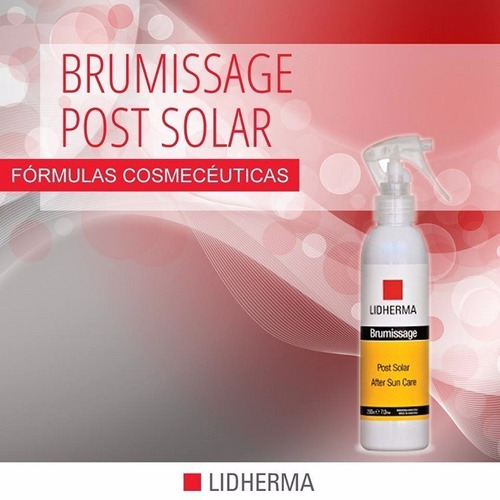 brumissage post solar lidherma