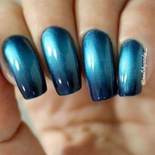 bruna marquezine esmalte degradê blue black 8ml