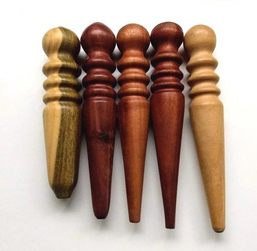 bruñidor slicker alisador pulido bordes cuero madera dura