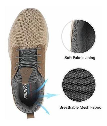 bruno marc para hombre resbalon en zapatos para caminar zapa
