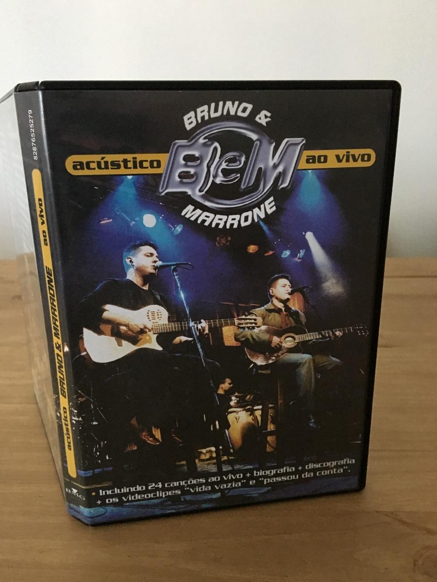 audio dvd bruno e marrone acustico ao vivo 2001