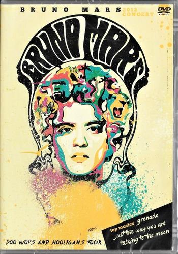 bruno mars en concierto / dvd + 1 una foto autografiada