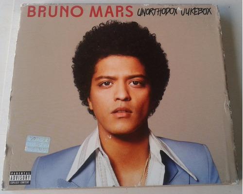 bruno mars unorthodox jukebox cd deluxe ed doble caja sin cd