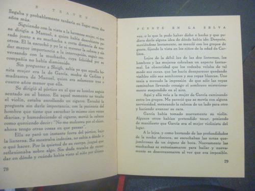 bruno traven. puente en la selva. 1a edición, méxico, 1941