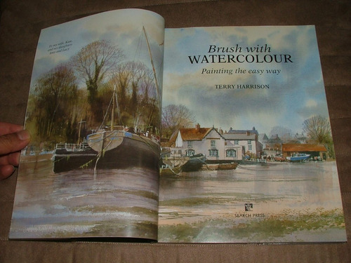 brush with watercolour  terry harrison