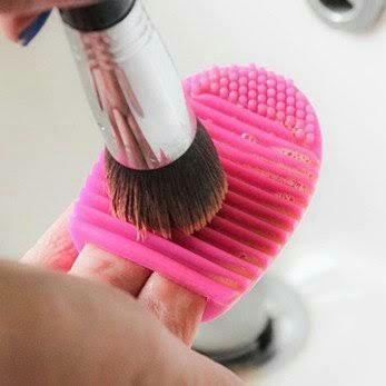 brushegg limpiador de brochas
