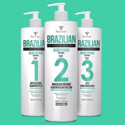 brushing progresivo brazilian sin formol 500ml envio gratis