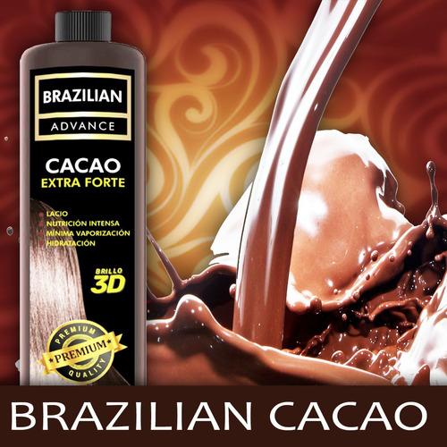 brushing progresivo de cacao alisado real brazilian 1l