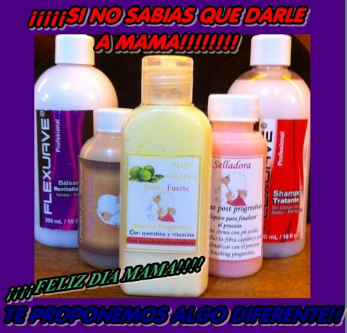 brushing progresivo+ selladora+ shampoo + kit de mantenimien
