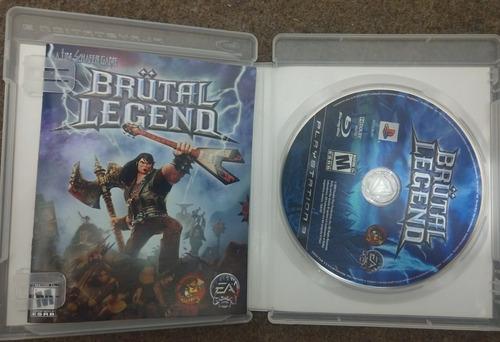 brutal legend juego ps3 (físico) - en español