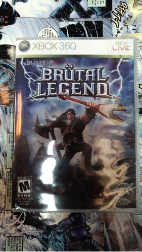 brutal legend xbox 360 usado