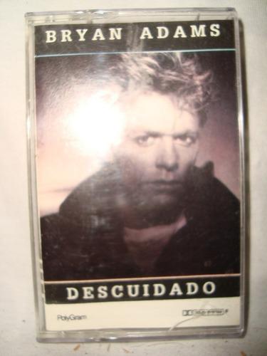 bryan adams descuidado cassette audio  en caballito