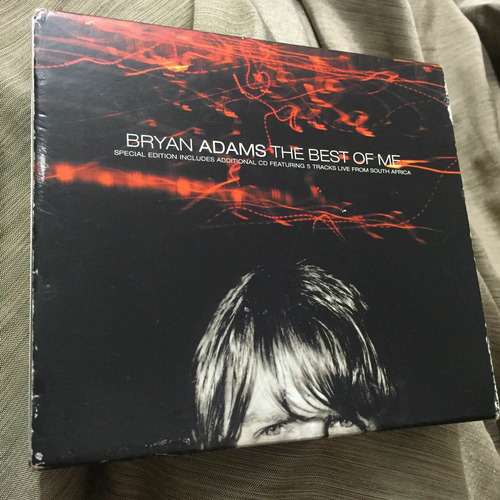 bryan adams the best of me special edition 2cds inglaterra