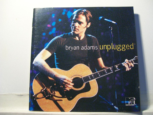 bryan adams, unplugged, 1997, cd original raro