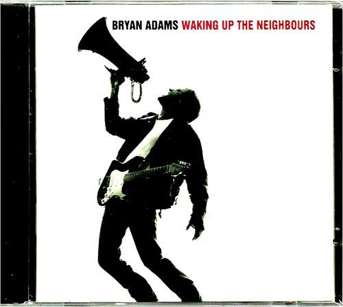 bryan adams  waking up the neighbours   cd nuevo y se llado