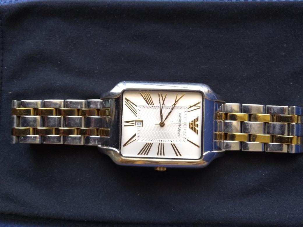 b9afd9a57519 bs 60mil vendo reloj emporio armani ar0484 original (hombre). Cargando zoom.