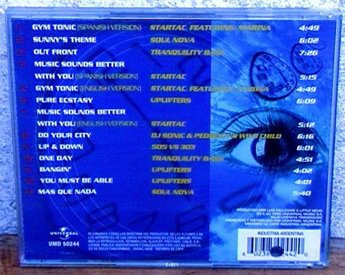 bs. as. 6 am ( nuevo) promo cd - startac, soul nova, uplifte