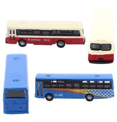 bs150 6pcs diecast modelo bus coche 1: 160 tren disposición