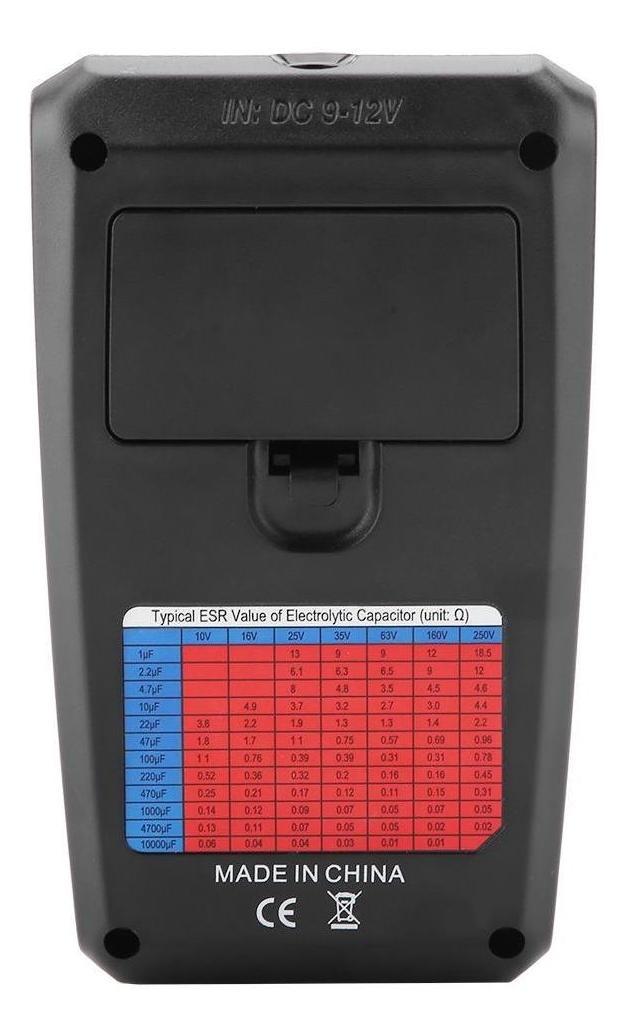 BSIDE ESR02 Pro Digital Transistor Tester Chip Component Inductance Meter Red