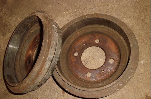 bs.s tambor freno trasero nissan sentra b13 b14 (par) 5mil