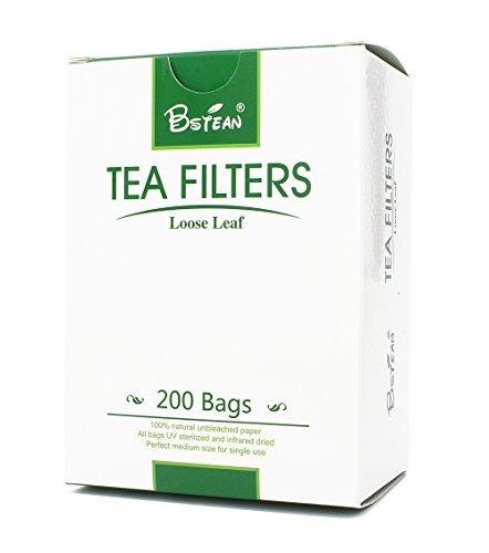 bstean bolsas de filtro de té infusor de té desechable con