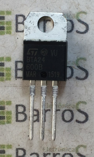 bta 24-600b tiristor triac 24a 600v bta 24-600
