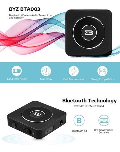 bta003 bluetooth sin hilos audio transmisor receptor adaptad