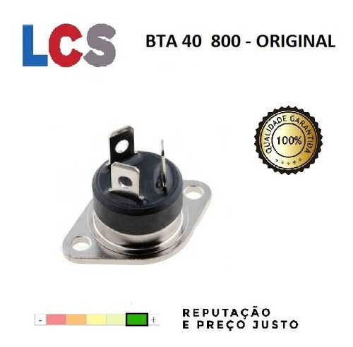 bta40-800 - bta 40 800 - triac original