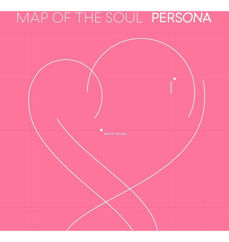 bts álbum map of the soul: persona cd + photobook + minibook
