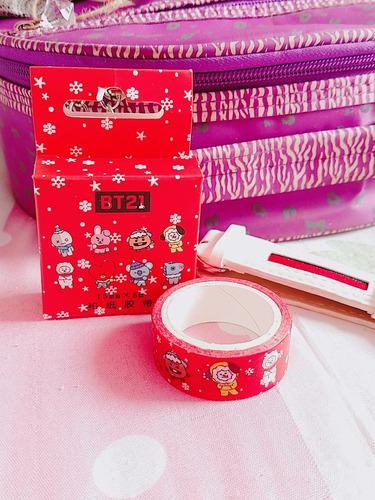 bts bt21 washi tape natal