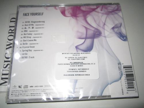 bts - face yourself [new cd]  nuevo sellado