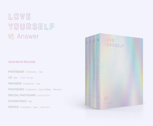 bts kpop album love yourself answer original - com brinde