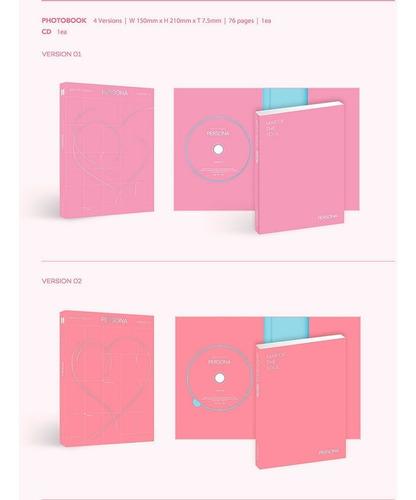 bts kpop album map of the soul: persona original - c/ brinde