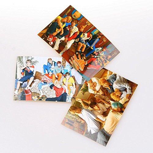 bts kpop bangtan boysphoto tarjeta de fotocard del mensaje 3