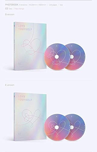 bts love yourself answer 2cd+photobook+mini book+photocard