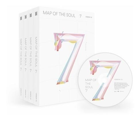 bts map of the soul 7 preventa elige tu versión limitada