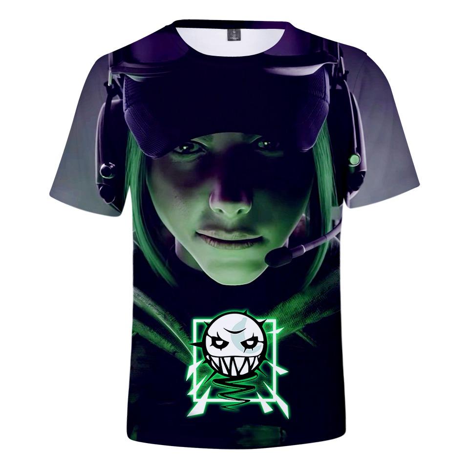 e68aeb66df Bts Rainbow Six Siege Moda Camiseta O Chaleco Juego Camiseta ...