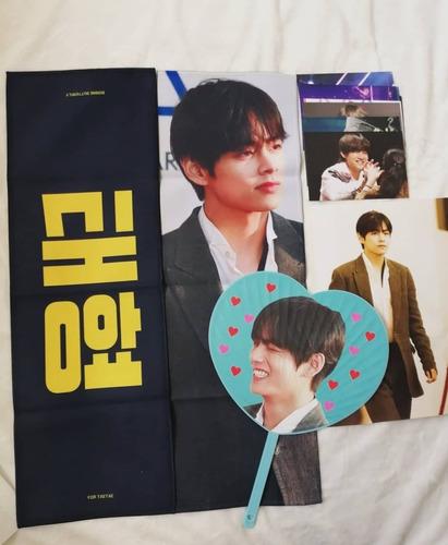 bts  set slogan taehyung v