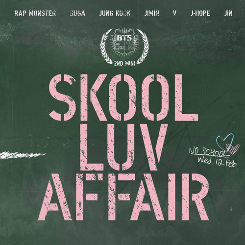 bts - skool luv affair kpop album envio gratis
