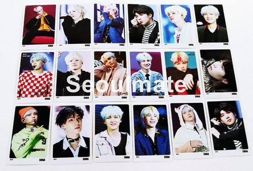 bts - suga [photocards set]
