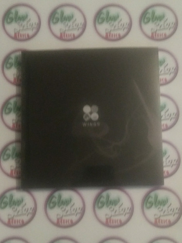 bts - wings version w (grupal & jin) kpop album (korean cd)