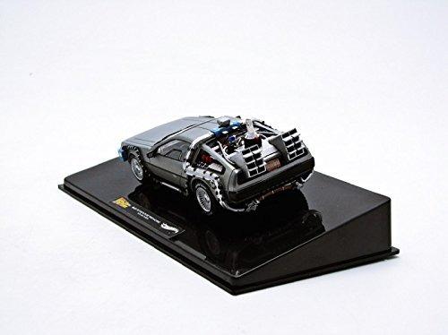 bttf delorean wmr fusion hot wheels elite escala 1 43
