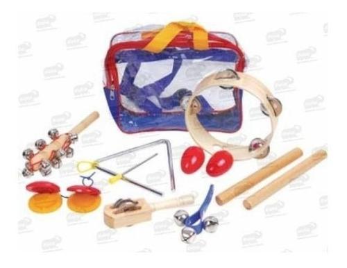 bu-0085 juego 8 instrumentos musicales infantiles 3+ de biyu